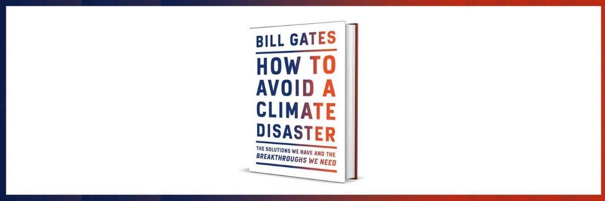 Presentación del libro How to avoid a climate disaster - Banner