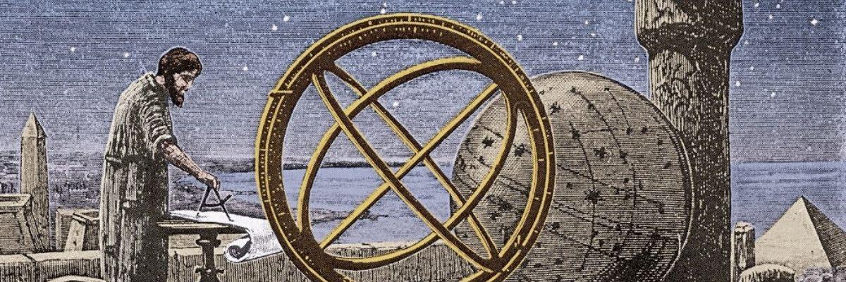 Historia de la astronomía de Platón a Kepler - banner